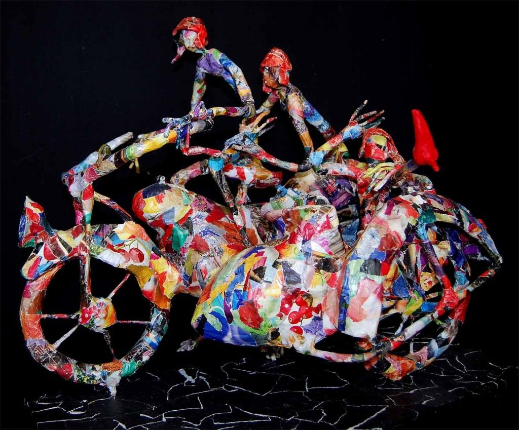 Astonishing Paper Sculptures Of Jean Francois Glabik