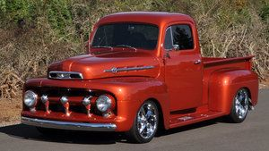 1952 Ford F1 Chris Chesney Classic Pickup Trucks 1952 Ford