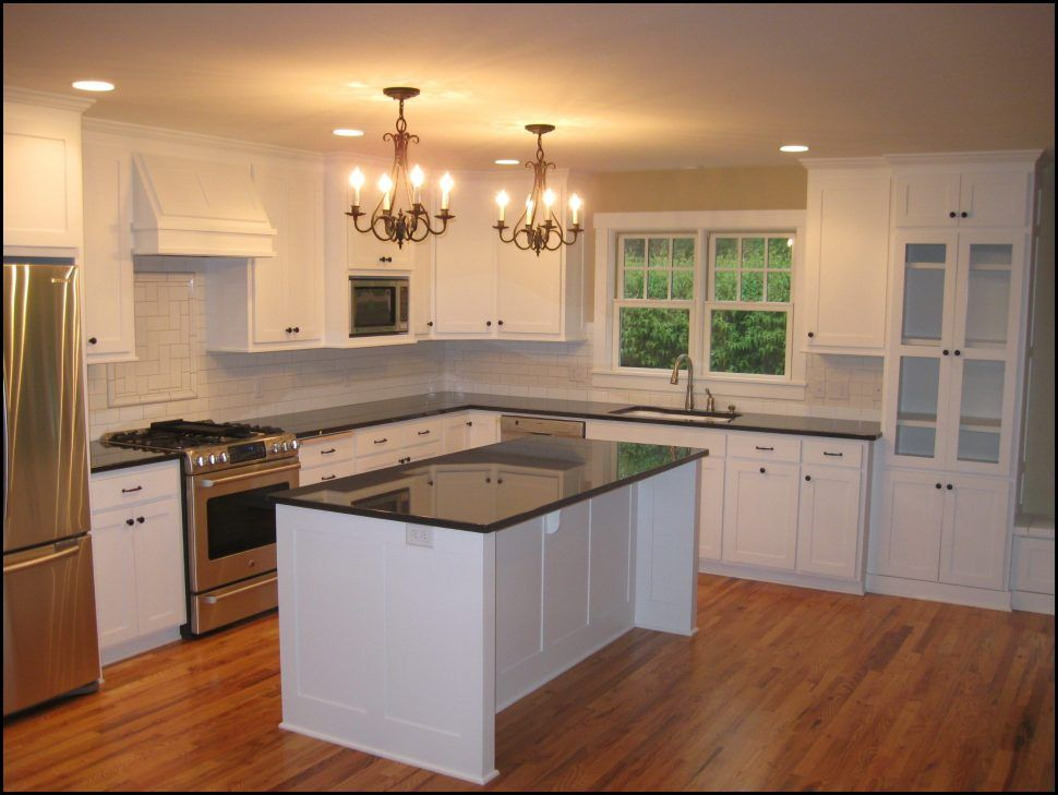 Kitchen Grey Kitchen Walls Cream Kitchen Ideas White Kitchen Cabinet Ideas Kitchen Cabinet And Wo Kitchen Remodel Layout Galley Kitchen Remodel Kitchen Remodel