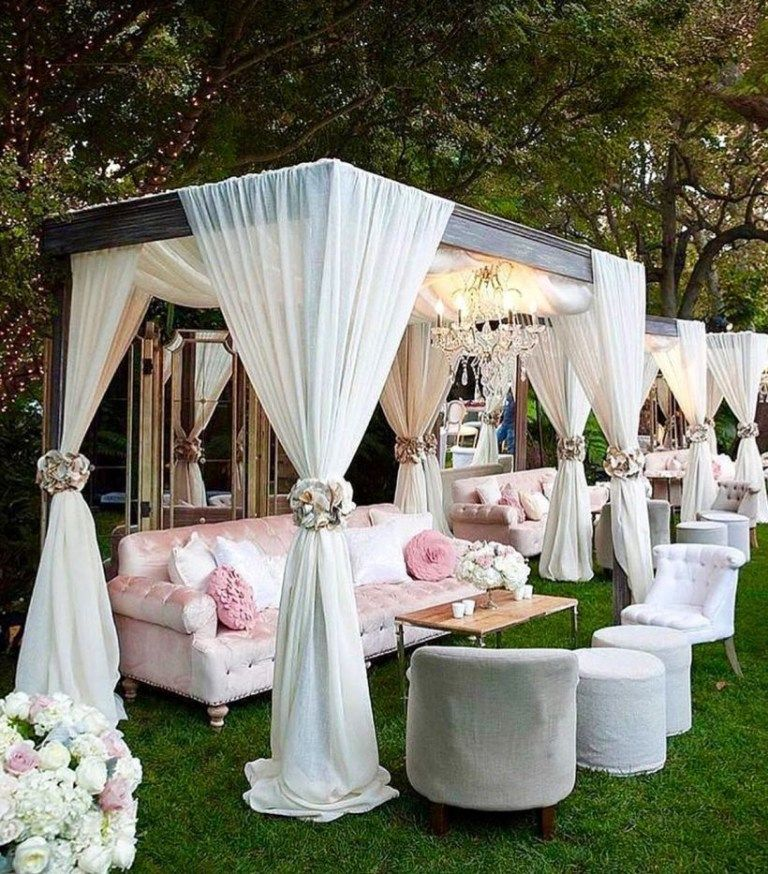 Luxury Decorating Ideas For Outdoor Wedding Events 25