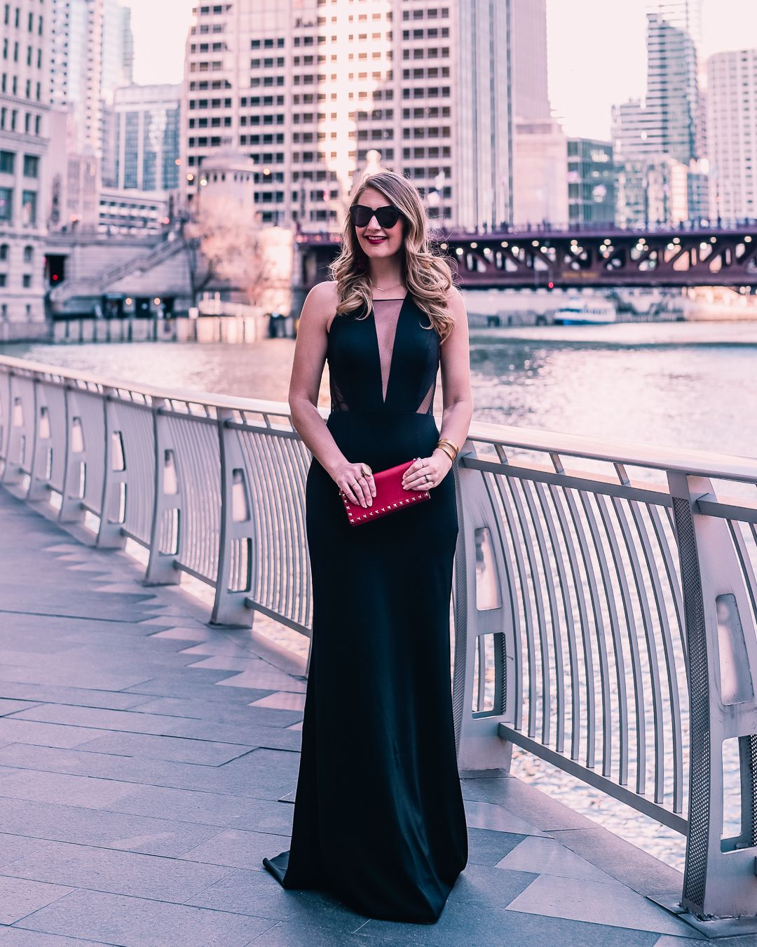 How To Be Black Tie Appropriate With Adrianna Papell Zappos Black Tie Wedding Attire Black Fashion Bloggers Black Tie [ 5184 x 3456 Pixel ]