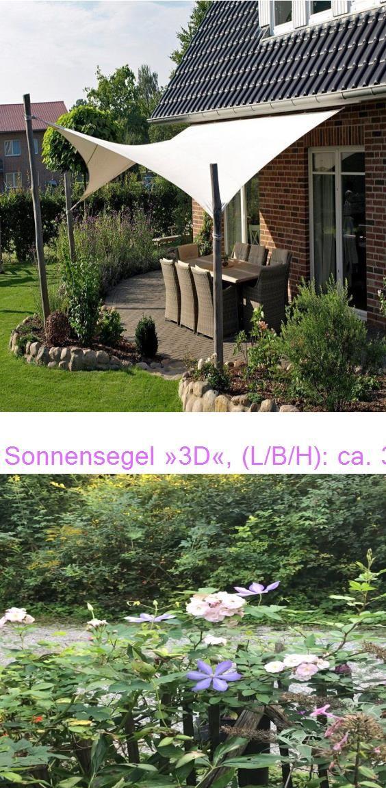 Sonnensegel 3d L B H Ca 395x515x447 Cm Otto Dein Eigener Romantischer Garten In 2020 Outdoor Structures Outdoor Pergola