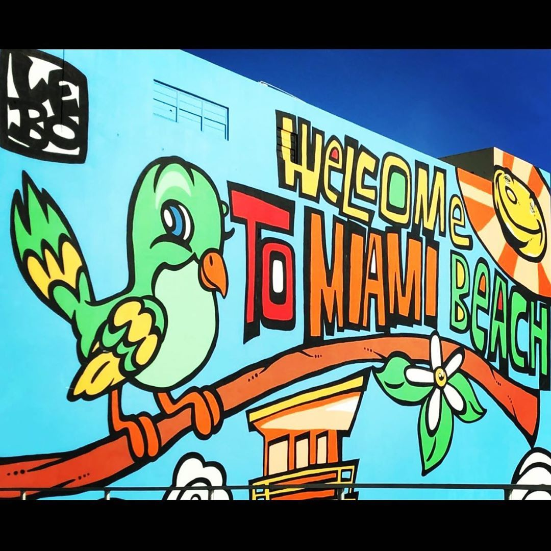 Miami ☀️🏝 #miami #miamibeach #instagood #instagram #insta #instamoment #instamood #instadaily #instapic #instalike #miamivice #miamilife #miamiphotographer #picoftheday #pic #pictureoftheday #picture #pictures #vacances #vacation #sunshine #graffiti #grafitti #art #artwork