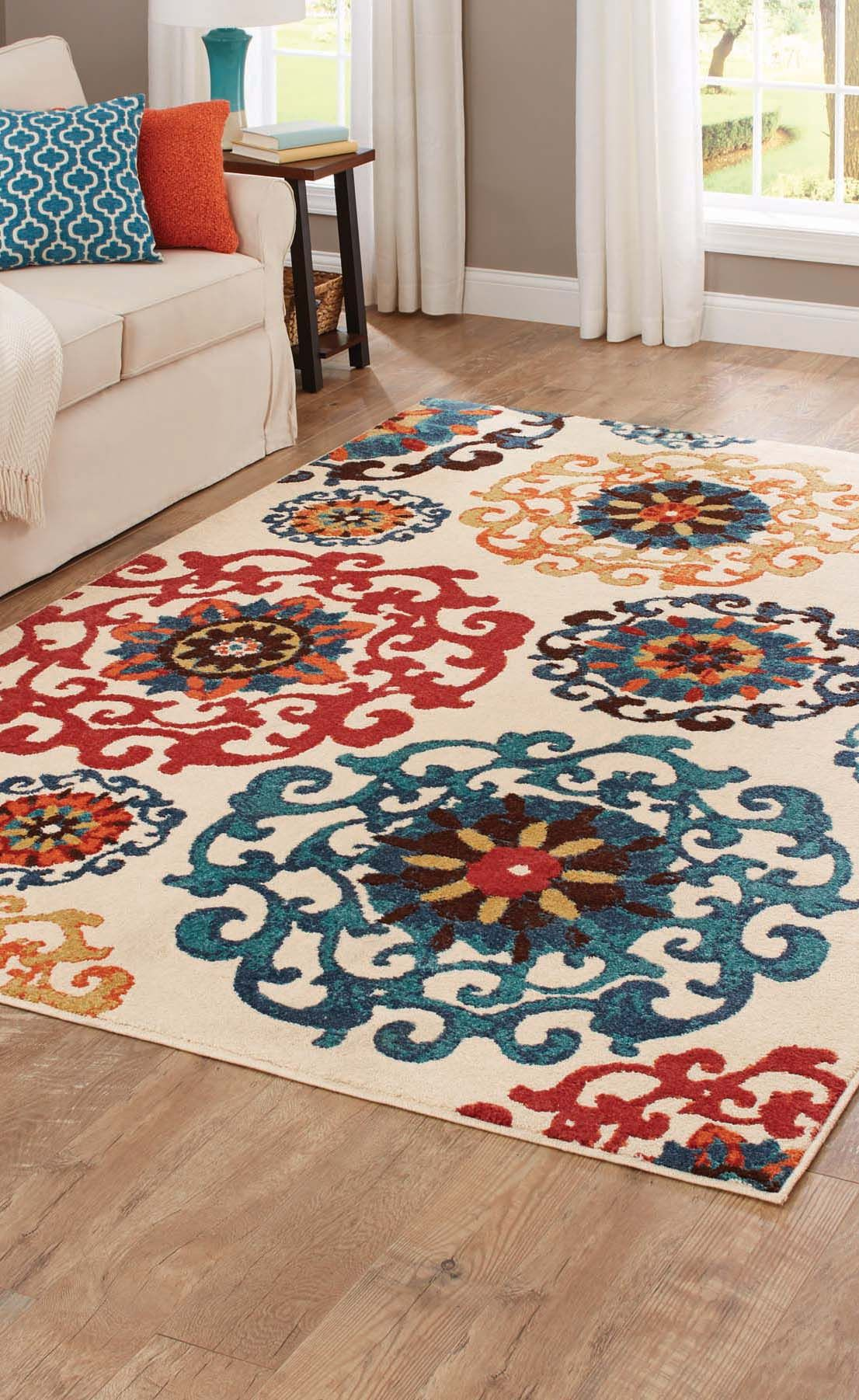 Better Homes And Gardens Suzani Cream Area Rug Suzani Area Rug