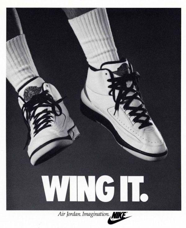 09b4f177414 Wing it. - Nike   Nike Ads   Sneakers nike, Jordans, Vintage nike