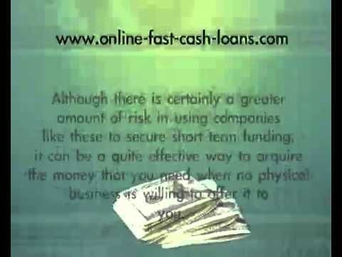 Visit us at: http://online-fast-cash-loans.com/how-to-receive-cash-advance-loans-with-bad-credit/ If you are in the market for cash advance loans, and you have an extremely poor credit rating, there are still many lending institutions that will continue to work with you.