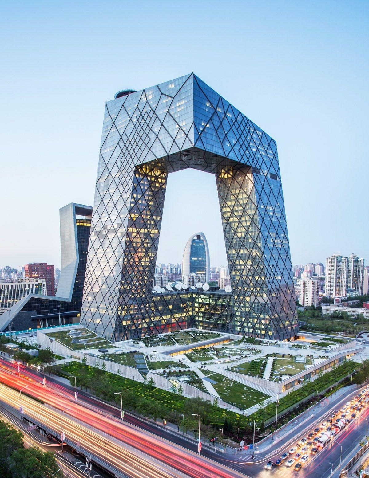 oma rem koolhaas ole scheeren cctv headquarters beijing 2012 architecture pinterest. Black Bedroom Furniture Sets. Home Design Ideas