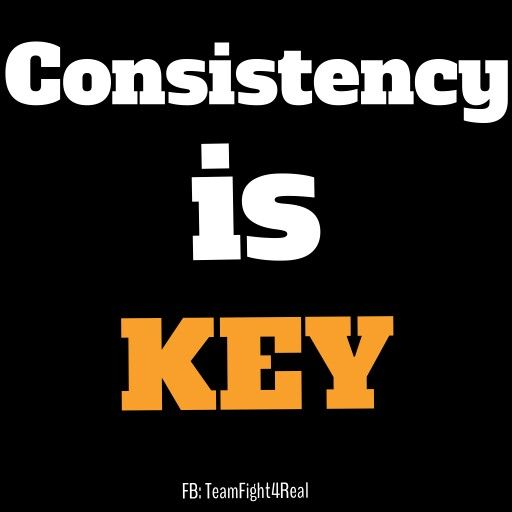 Motivational Quotes Consistency: Fitness Support/motivation/help