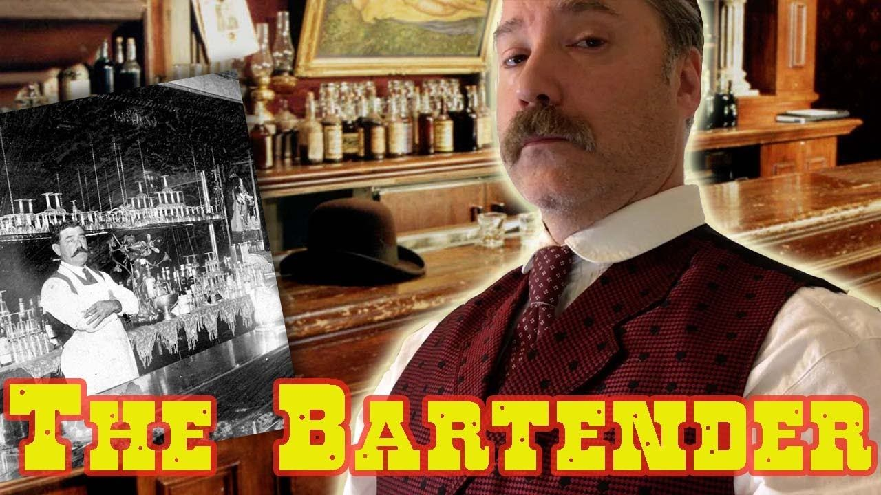 Dressing the part the bartender bartender youtube