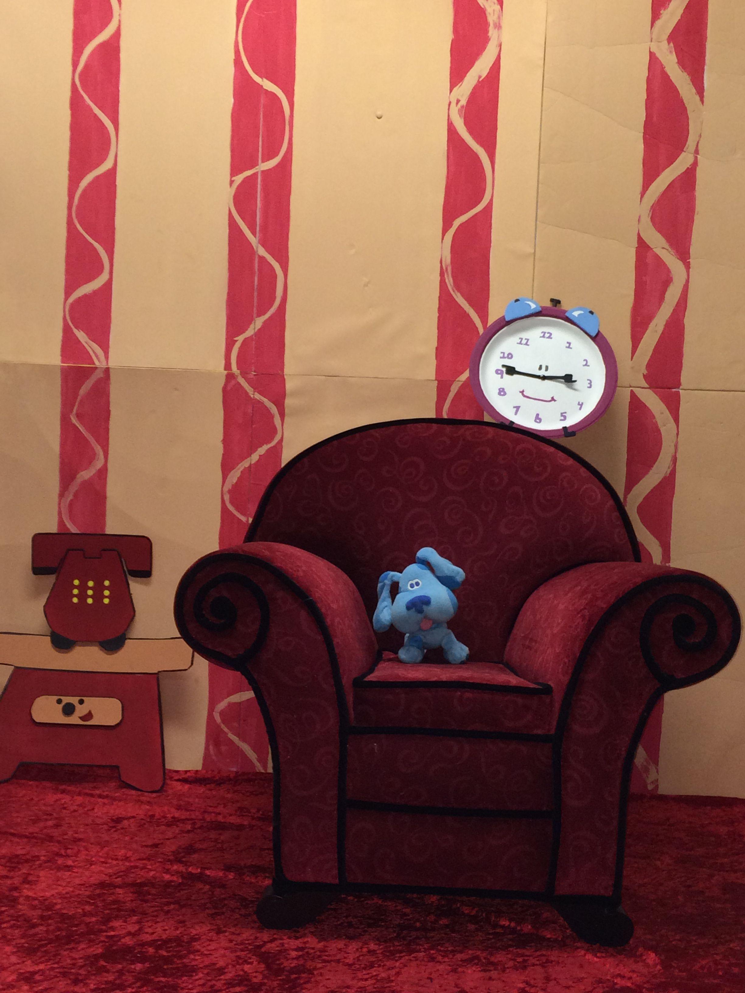 blue u0027s clues living room background blue u0027s clues party
