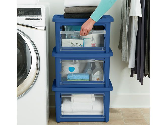 All AccessTM Organizers Check Out These Nifty Rubbermaid They Come In Small Medium And Large Sizes Are Stackable Can Be Opened From The