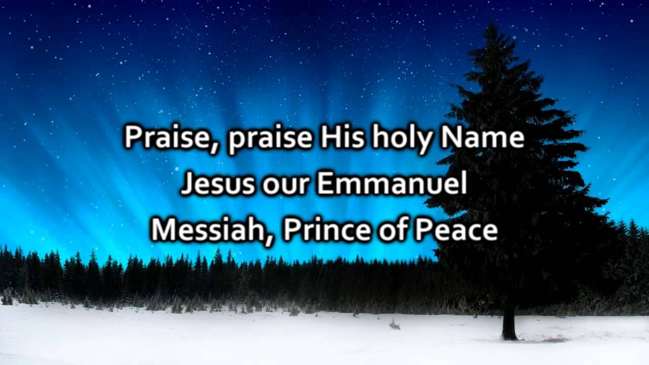 Hillsong - Our King Has Come - Lyrics (With images) | Joy to the world lyrics