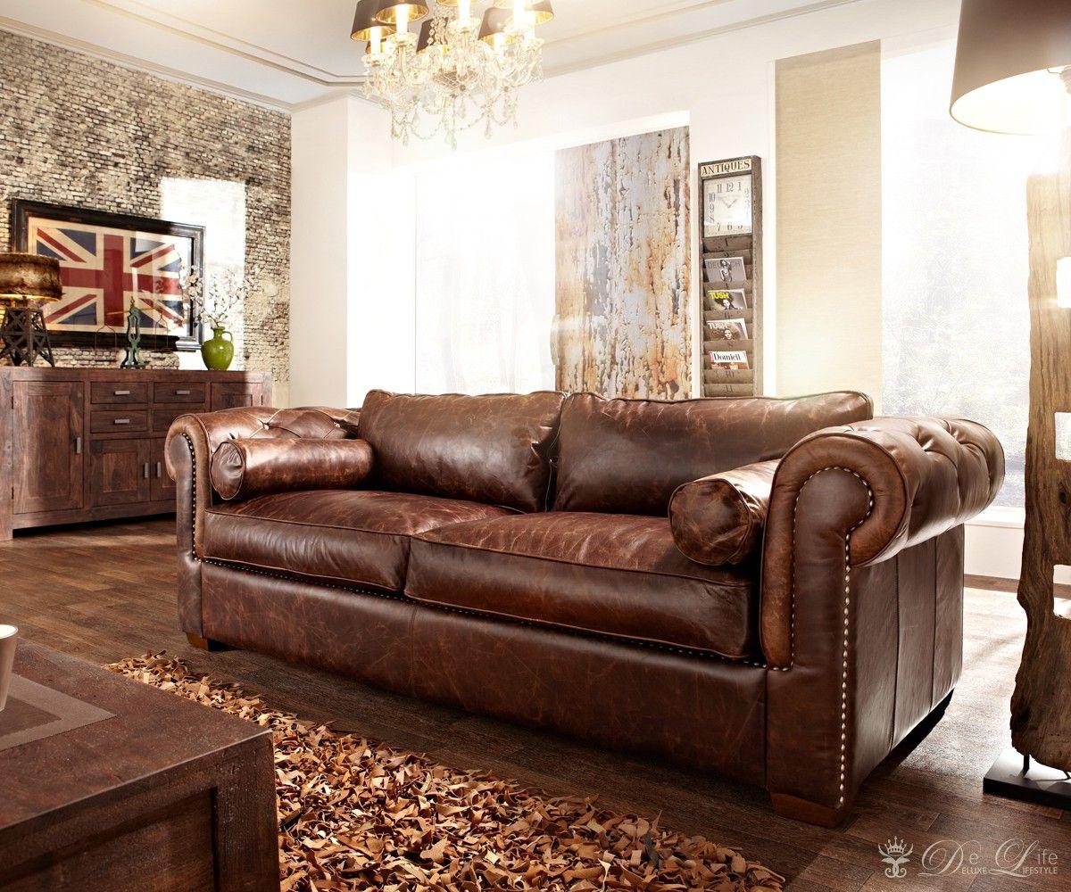 clubsofa rocket 2 sitzer echtleder sofa couch vintage. Black Bedroom Furniture Sets. Home Design Ideas