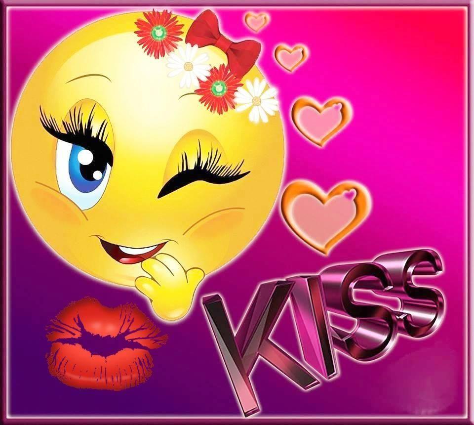 Открытку, открытки поцелуй на удачу