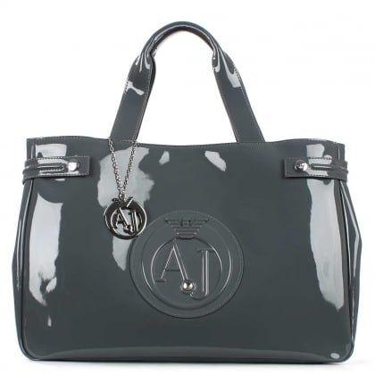 5f9282aa36 Armani Jeans Kelis Diamante Grey Women's Shoulder Bag   L o v e in ...