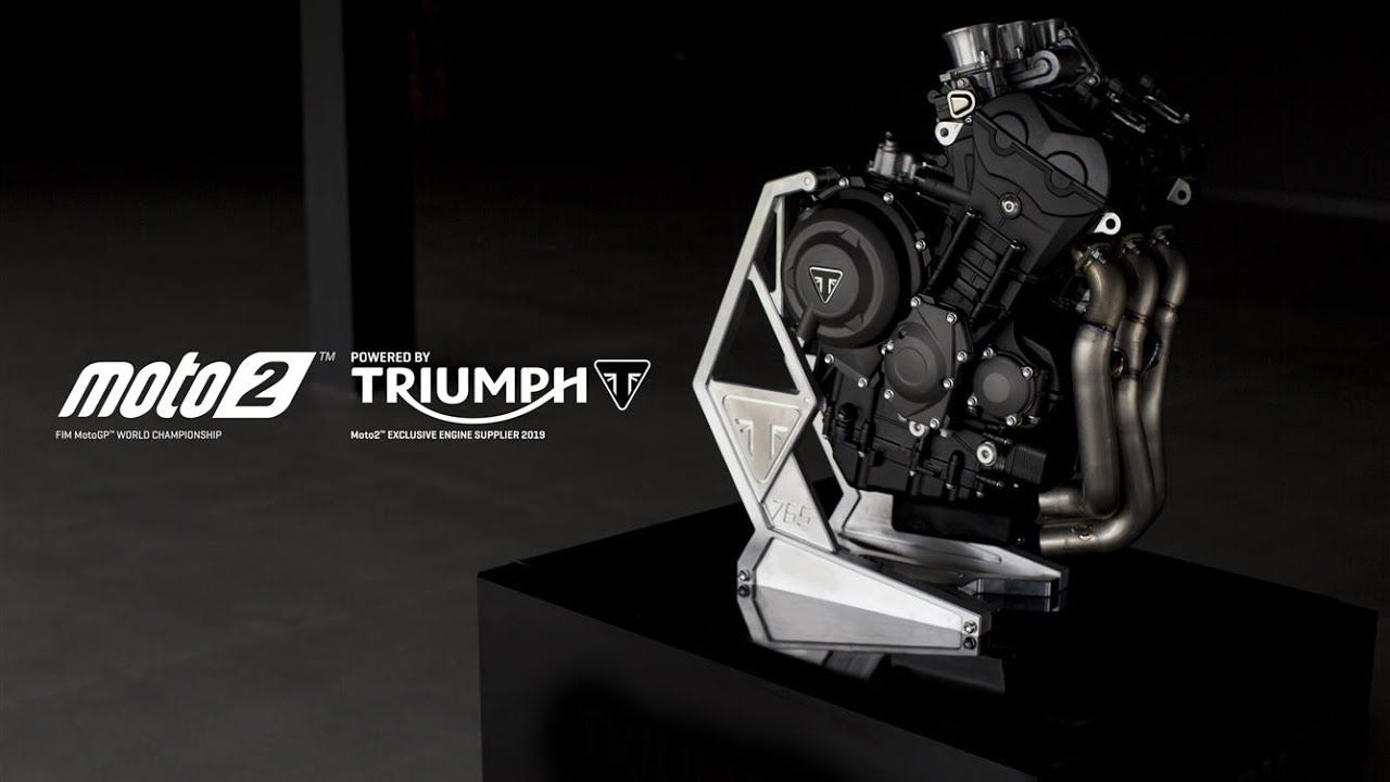 Possibly 'the' best engine of all time. Introducing the Triumph Moto2 765cc triple engine. Britannia rules again, Triumph the 'name' that never dies..