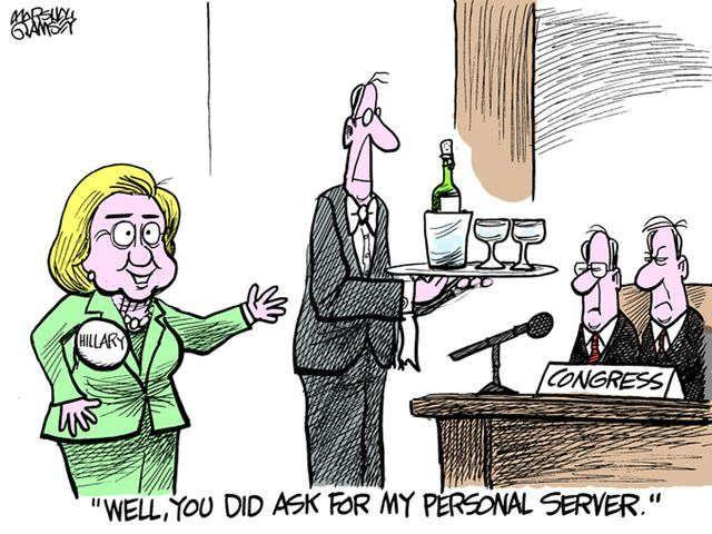 August political cartoons from Gannett cartoonists via @USATODAY
