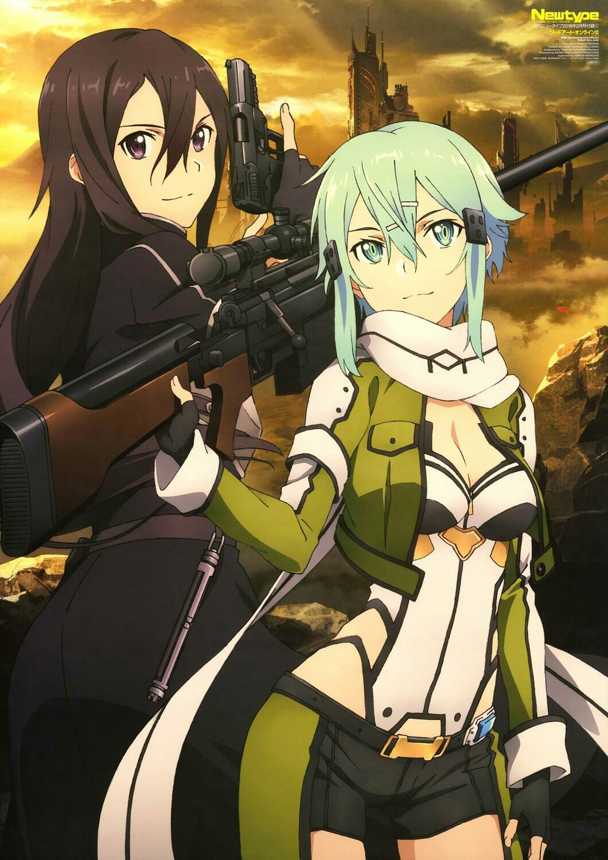 Kirito e Sinon | Anime