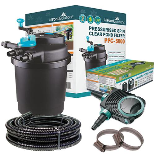 PFC5000 Pond UV Filter & Pump Kit All Pond Solutions in