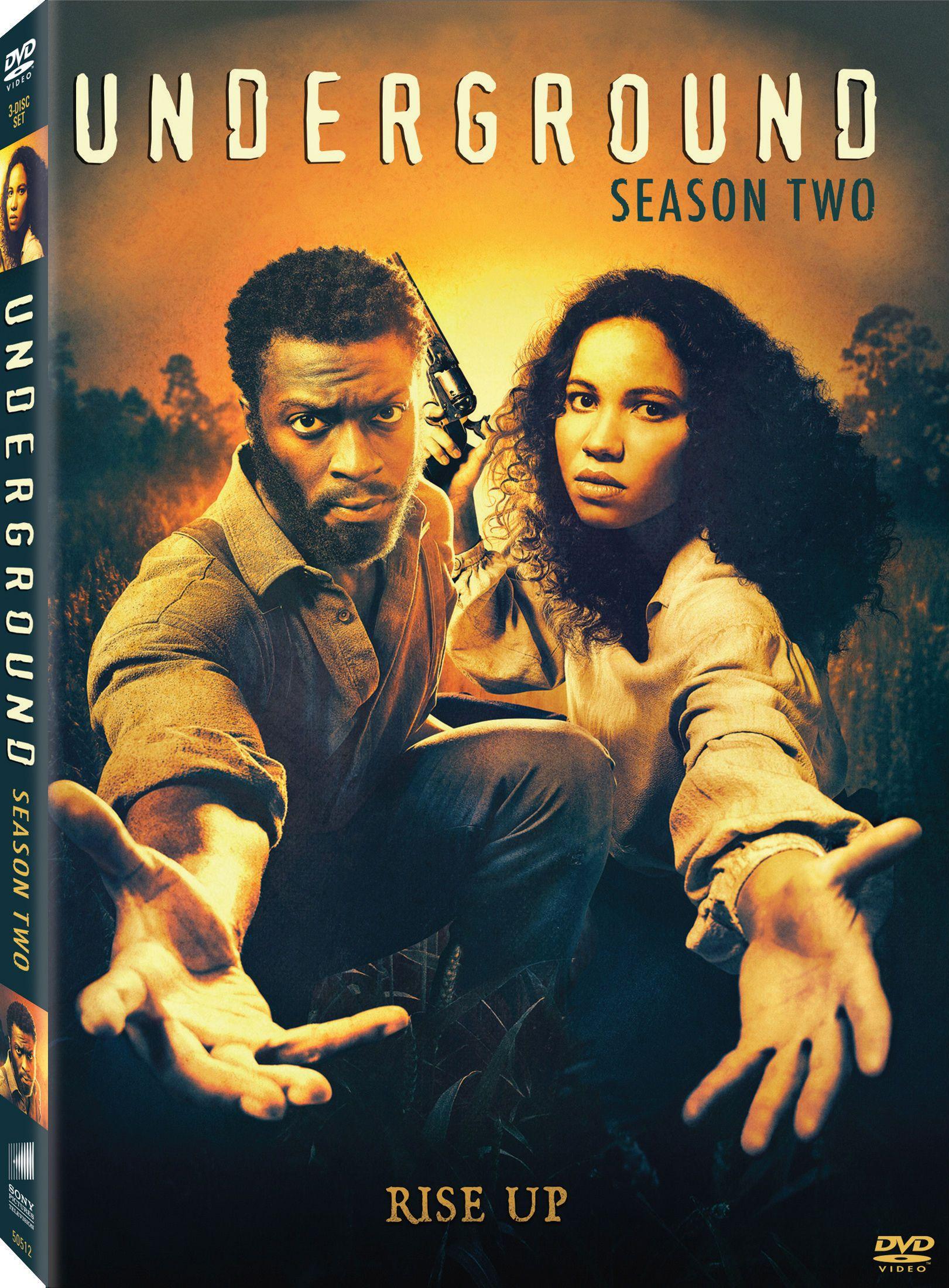 Underground Season 2 (TV-DVD - 7/11/17) | New Movies | Underground