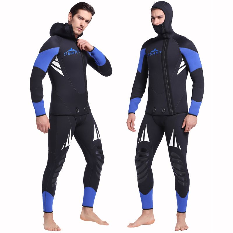 The Only Good Suit is a Wetsuit Surfing Ocean Beach Scuba Diving Hoodie for Men