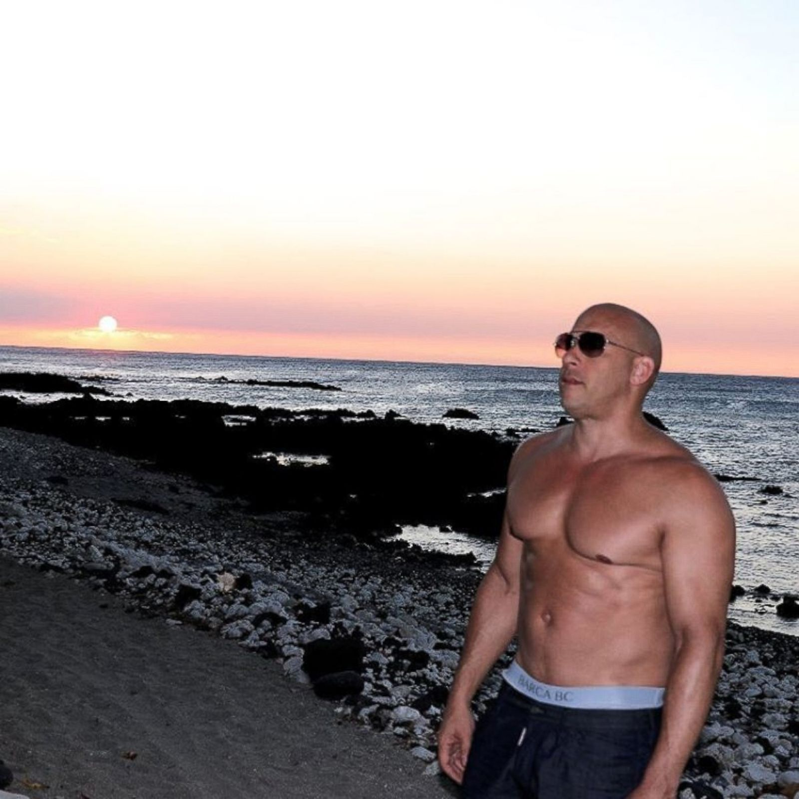Vin Diesel Shows Off His Six Pack Picture   Celebrities on