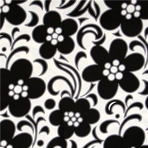 f599f6e566c3 Vera Bradley fabric black-white flowers