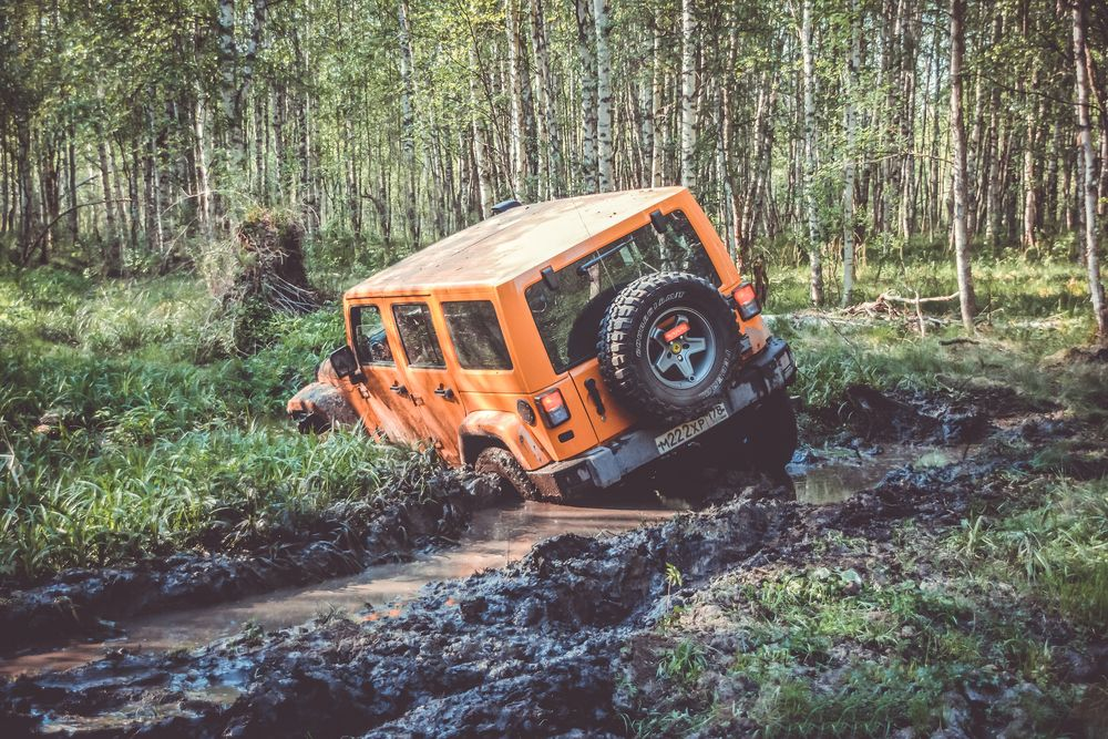 Don't Get Stuck OffRoading in a Jeep Wrangler with These