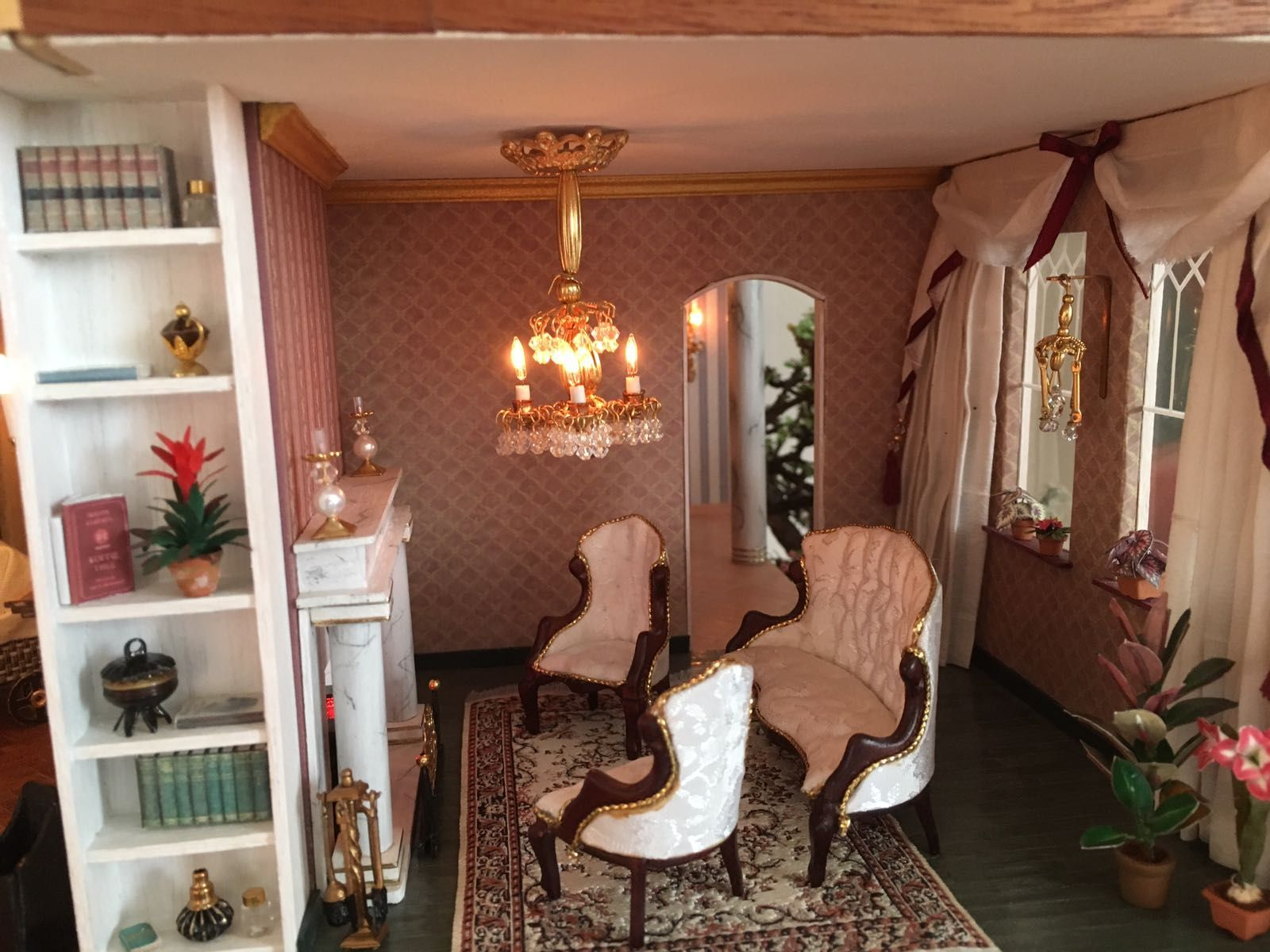 Mini Wohnzimmer ~ 136 best dollhouses the fairfield images on pinterest