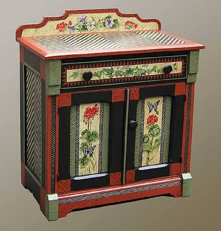 Past Works :: Painted Furniture by Dan & Marlene Coble