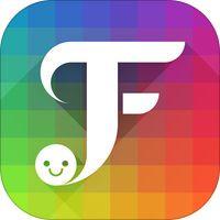 """fancykey - emoji-tastatur mit themen, gif, fonts"" von fancykey keyboard, inc. | emoji tastatur"