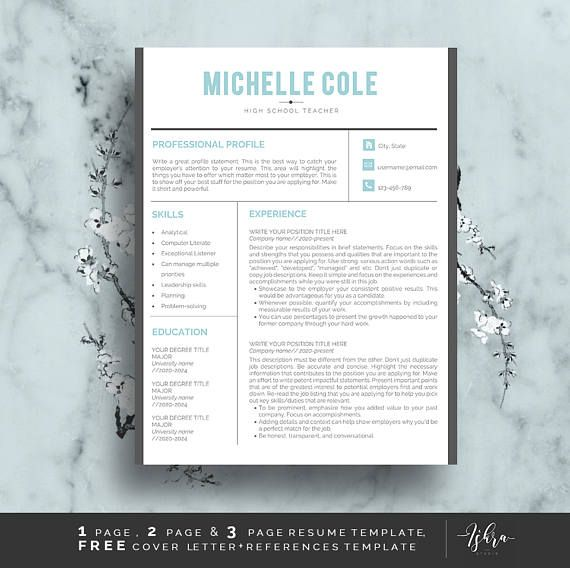 Buy One Get One Free Professional Resume Template Professional