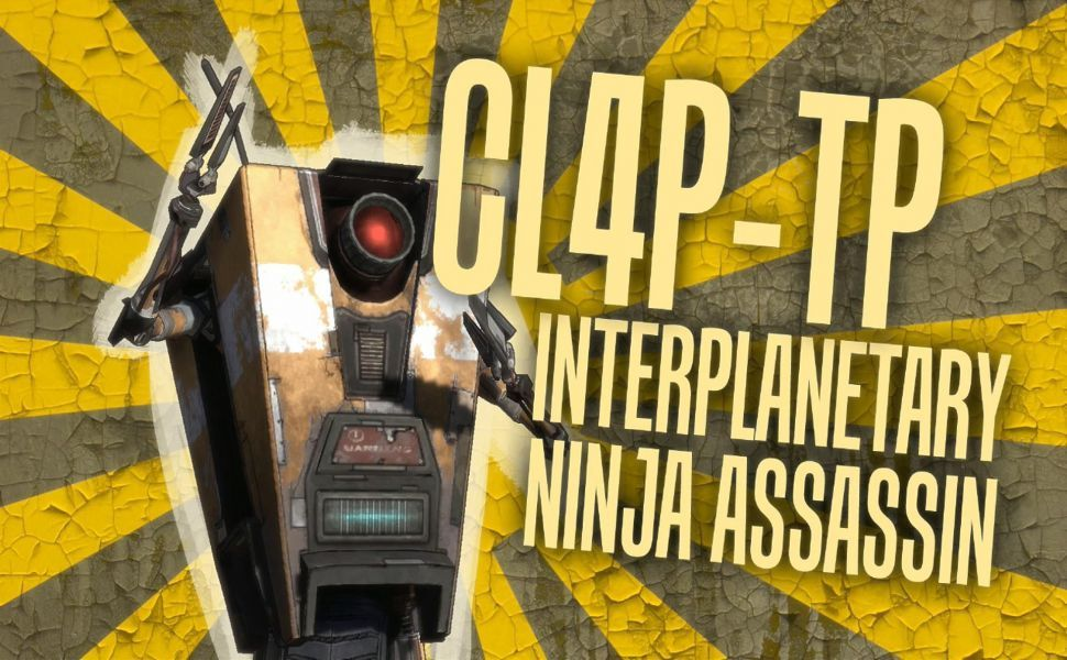 Borderlands claptrap hd wallpaper wallpapers pinterest borderlands claptrap hd wallpaper voltagebd Image collections