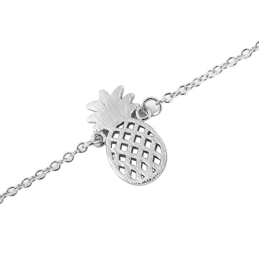 Summer cute simple dainty pineapple chain bracelet bracelets