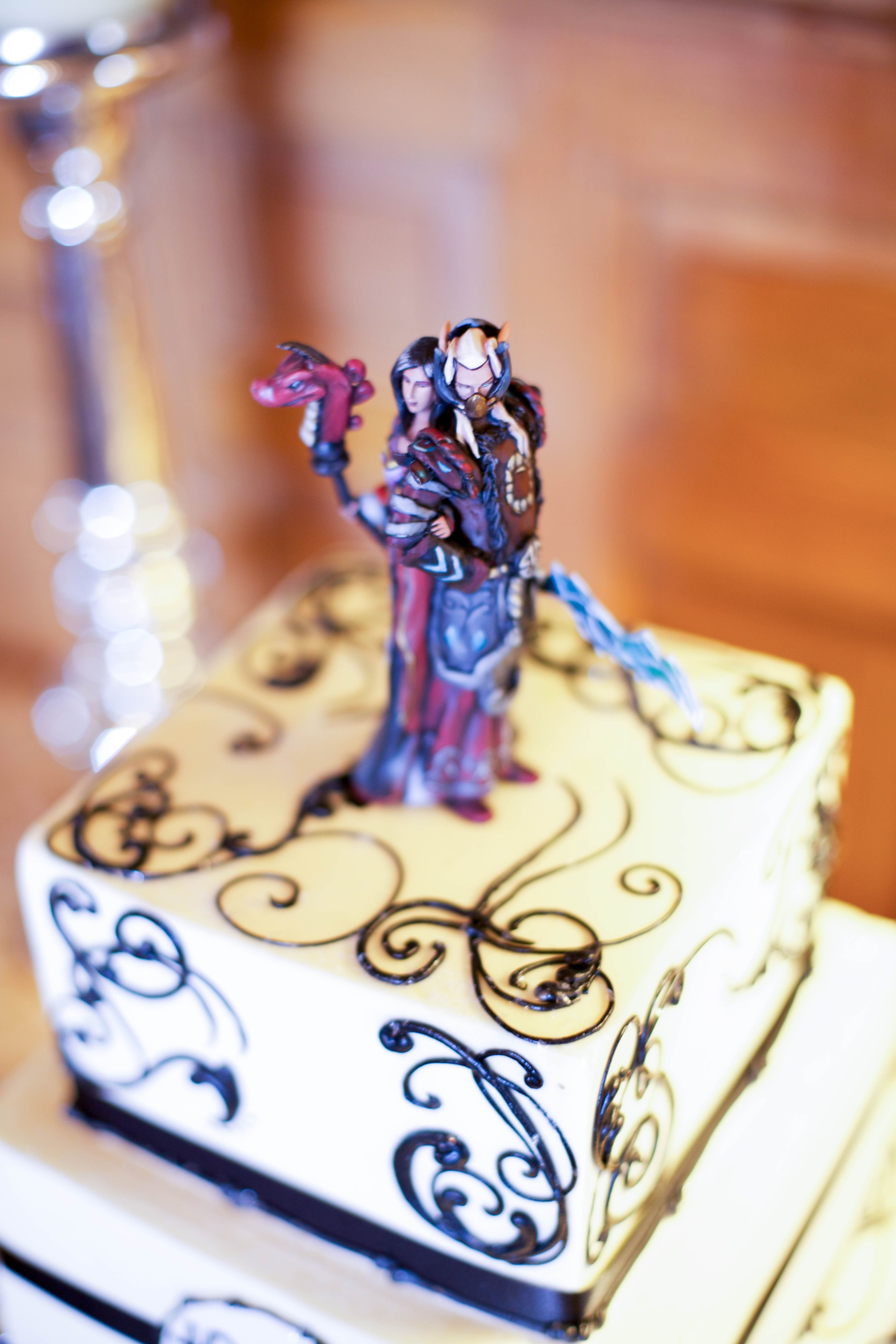 World Of Warcraft Wedding Cake Toppers Nerd Wedding Video Game Wedding Wedding Cake Toppers