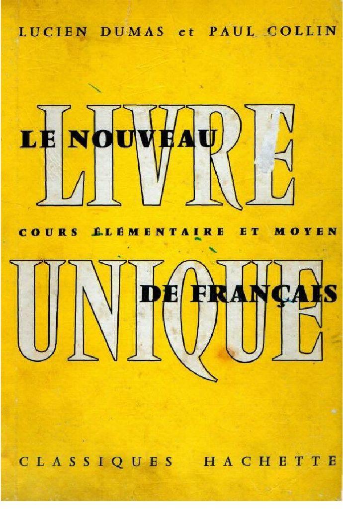 Langue Francaise Le Nouveau Livre Unique De Francais 02 Ce1