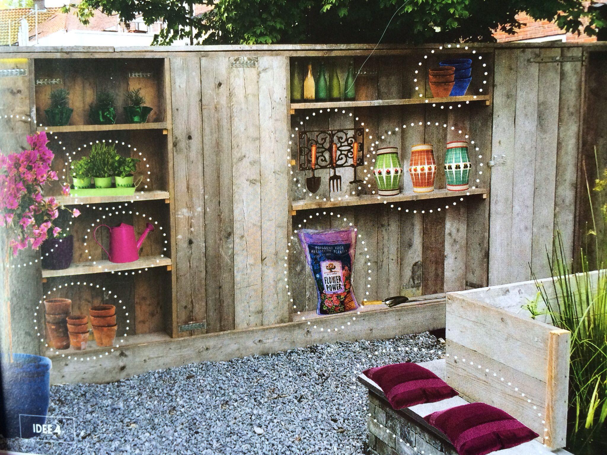 Kast Voor Balkon : Tuin afscherming en kast in één balkon pinterest balkon