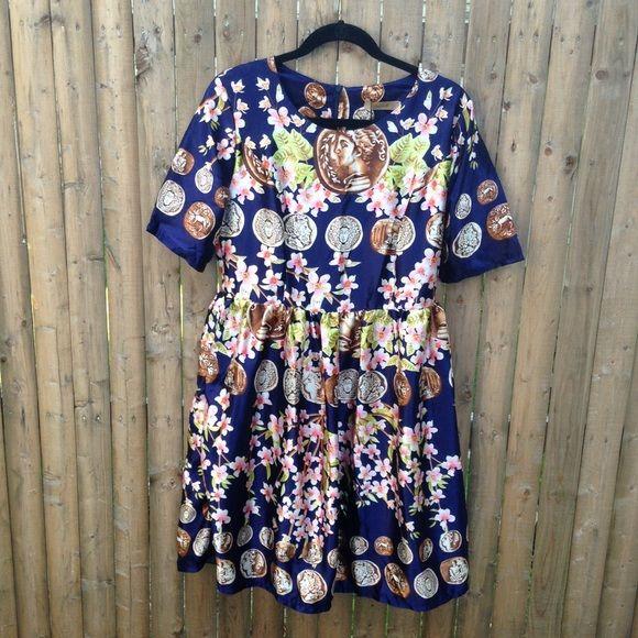 77a4bf140 Unique Medallion Print Dress