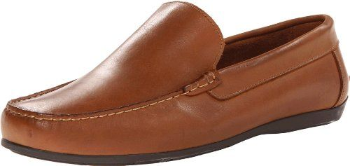 Florsheim Men's Jasper Venetian Slip-On Loafer Leather sockliner Cushioned  footbed Moc-toe stitching creates a lightly puckered look in this refined  ...