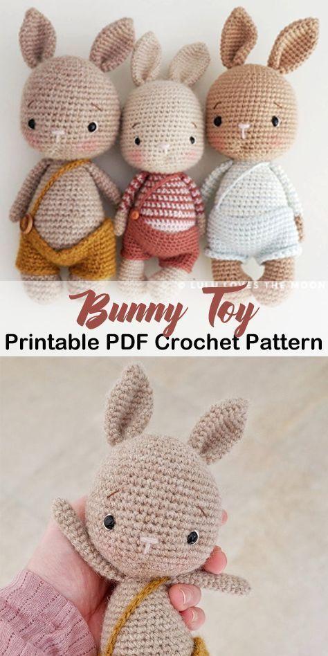 Photo of Make a Cute Bunny – Easter Present – Stricken ist so einfach wie 1, 2, 3 Das Str… – Ostern,  …