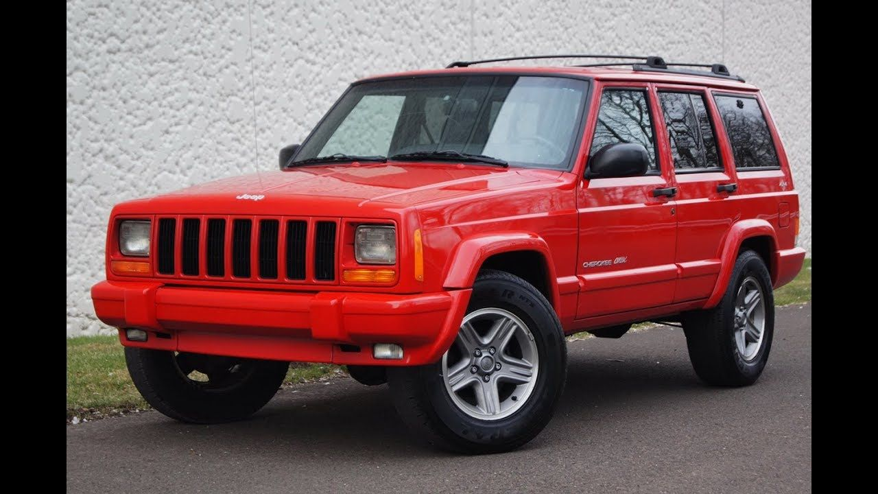 eBay 2000 Jeep Cherokee Sport 4x4 modified and ready to