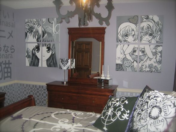 Anime room make it mine for Anime bedroom ideas