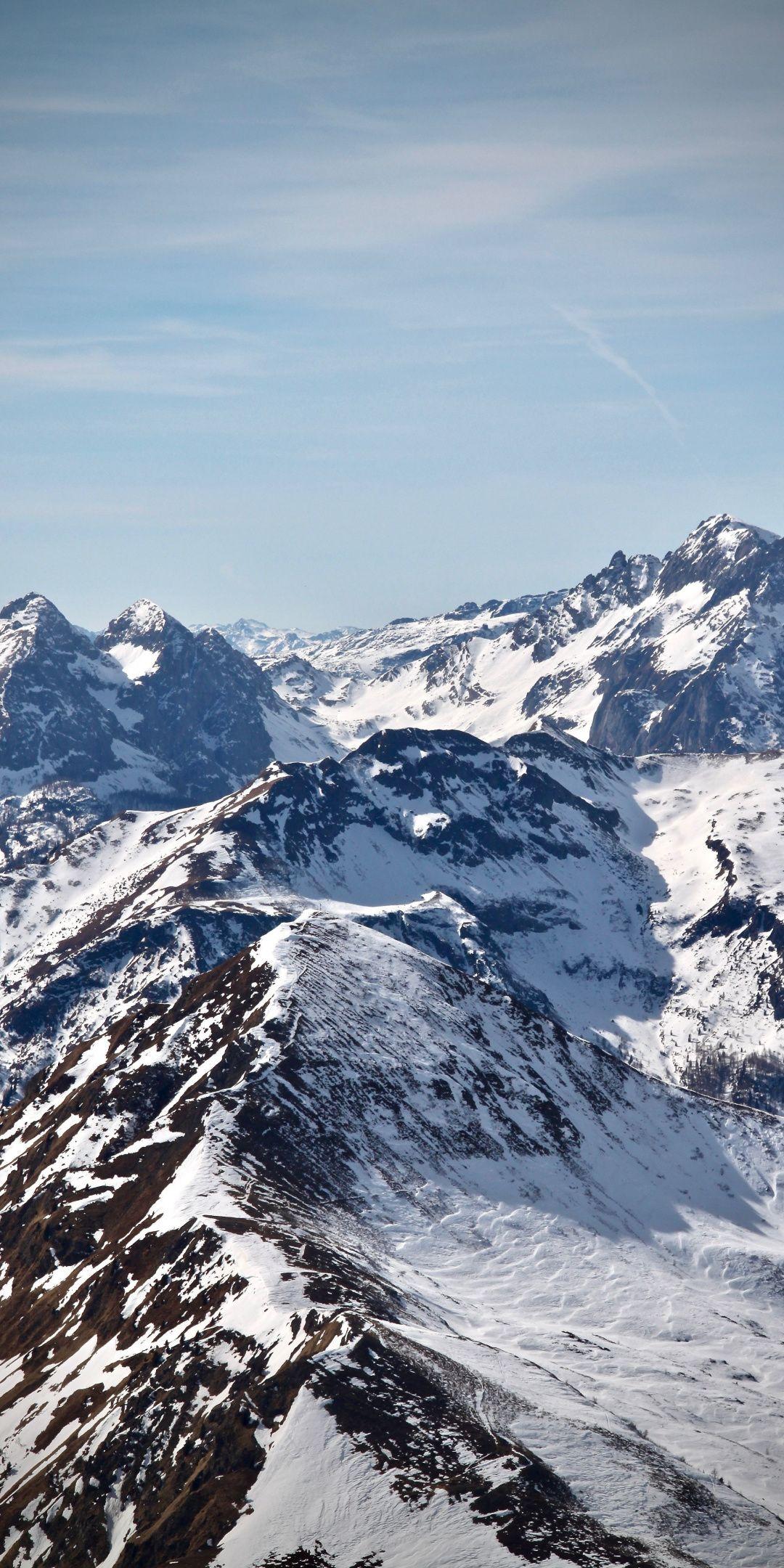 Summits Mountains Glacier Nature Wallpaper Beautiful Places