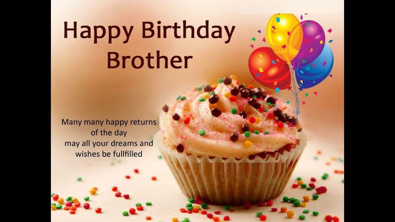 Brother Birthday Wishes Whatsapp Video Happy Birthday My Brother