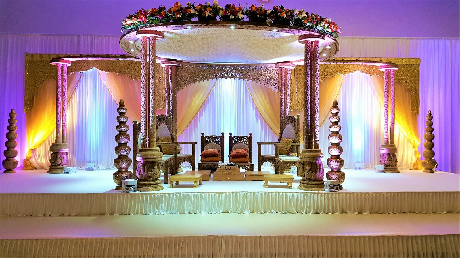 Wedding stage decoration images in hd  Pin by Rish Patel on Mandaps  Pinterest
