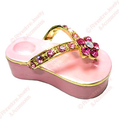 bc2c96c6e6acca Pink Flip Flop Trinket Box