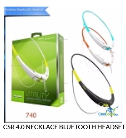 CSR 4.0 NECKLACE BLUETOOTH HEADSET for more details visit http://coolsocialads.com/csr-4-0-necklace-bluetooth-headset-05881