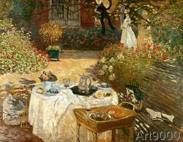 Claude Monet - Le Déjeuner