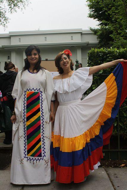 Traditional Dress Of Wayuu And Llanera