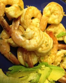 Spicy Lemon Shrimp